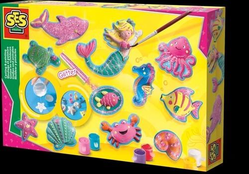 Odlewy gipsowe figurki z oceanu (01354)