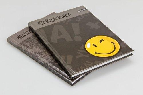 Brulion A5 Smiley World w kratkę 96 kartek 4 wzory mix