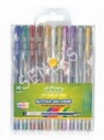 Długopisy żelowe brokatowe 10 kolorów CRICCO