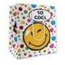 Torba papierowa Smiley 10 sztuk mix