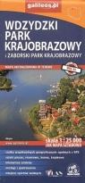 Mapa sztabowa -Zaborski i Wydzki Park Krajobrazowy