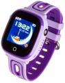 Smartwatch zegarek Kids Happy fioletowy (5903246280548)