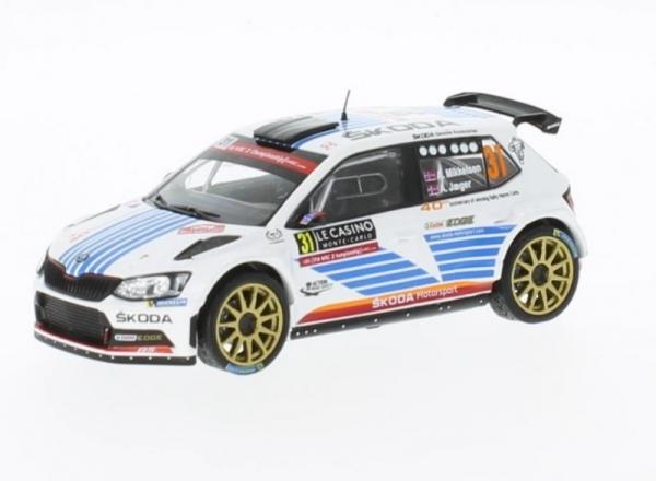 Skoda Fabia R5 #31 A. Mikkelsen/A. Jaeger Rallye WM Rallye Monte Carlo 2017 (RAM649)