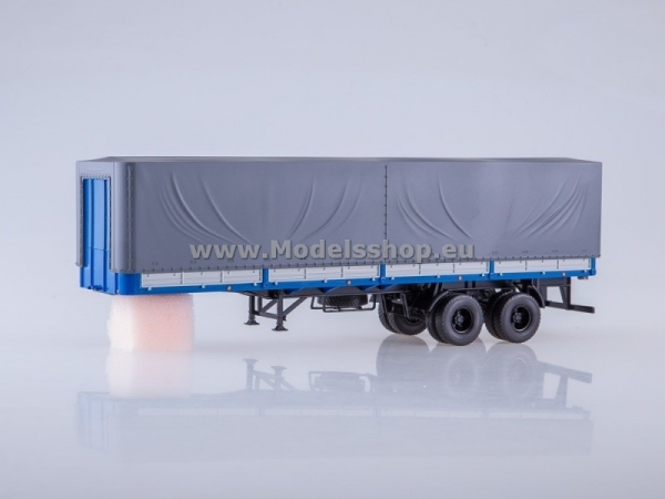 MAZ-93971 Semitrailer with Tent (grey) (AI7019)