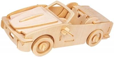 Łamigłówka drewniana Gepetto -Samochód sportowy G3