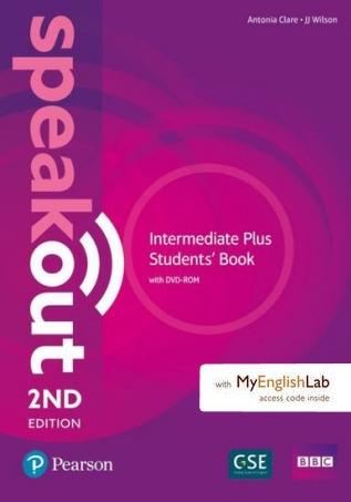 Speakout Intermediate Plus Student's Book with DVD-ROM (Uszkodzona okładka) Clare Antonia, Wilson JJ