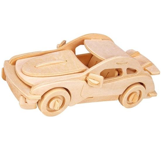 Łamigłówka drewniana Gepetto - Samochód sportowy (105680)