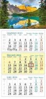 Kalendarz 2014 Jezioro