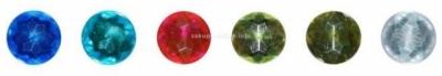 Kryształki samoprzylepne okrągłe 6 kolorów 78 szt. K022 282705
