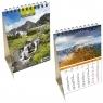 Kalendarz biurkowy 2021 pion mały Tatry EV-CORP