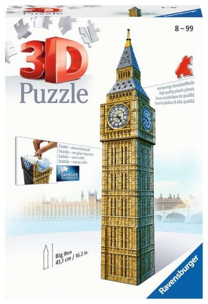Puzzle 3D: Big Ben (12554)