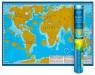 Mapa zdrapka - Świat Młodego Odkrywcy