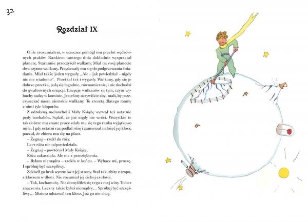 Mały Książę (z ilustracjami Autora z 1942 roku) Antoine de Saint-Exupry