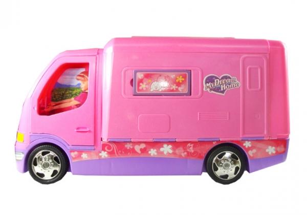 Camper dla Barbie