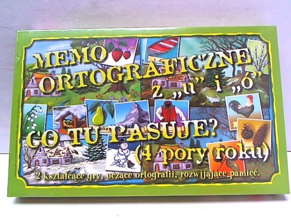 Gra - Memo ortograficzne Ó i U SAMO-POL