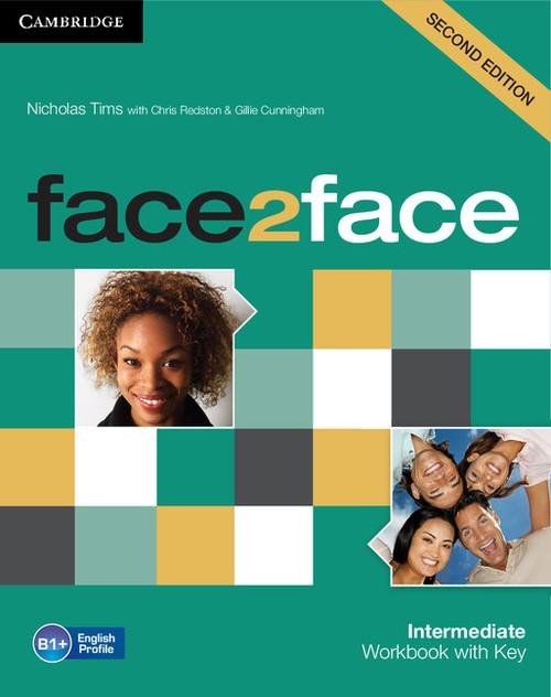 face2face Intermediate Workbook with Key Tims Nicholas, Redston Chris