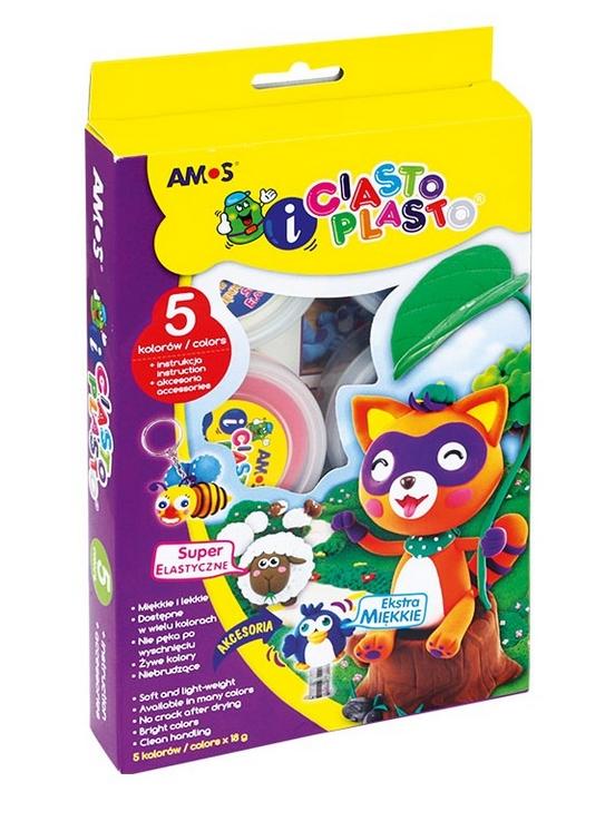 CiastoPlasto AMOS IC6PAL - 5 kolorów + akcesoria
