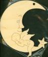 Zawieszka księżyc nr.3 Boże Narodzenie