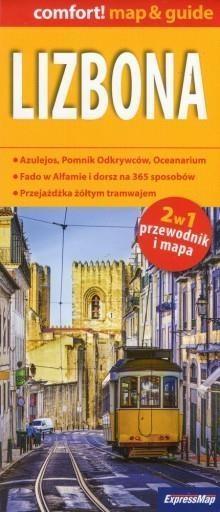 Lizbona map&guide (laminat) , Praca zbiorowa