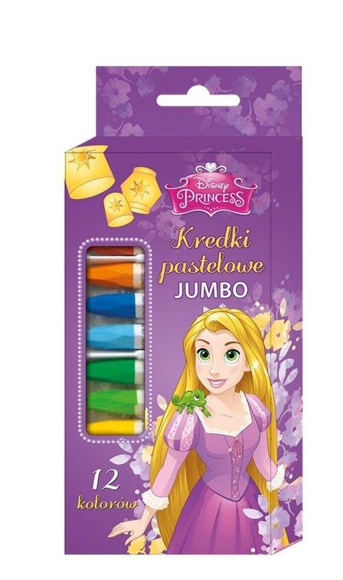 Kredki pastelowe 12 kolorów Księżniczki