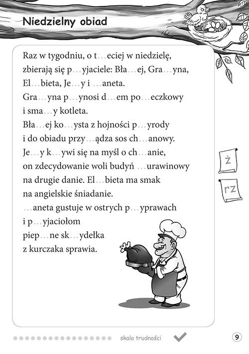 Radosne dyktanda - klasa 2 Marta Kurdziel