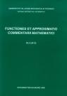 Functiones et approximatio Commentarii mathematici 49.2 (2013)