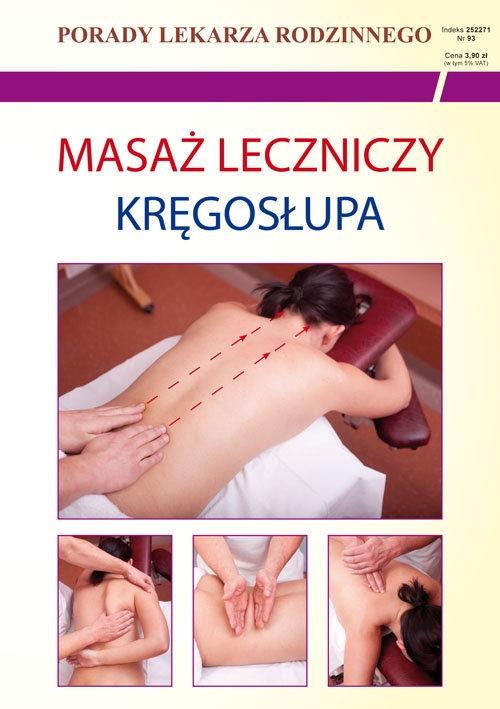 Masaż leczniczy kręgosłupa Chojnowska Emilia