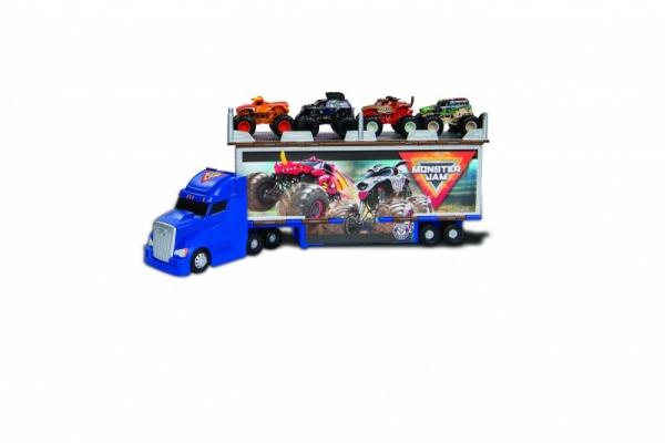 Pojazd transportowy 2w1 MONSTER JAM Hauler Set (6058258)