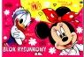 Blok rysunkowy A4/20k Minnie Mouse