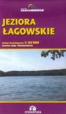 Jeziora Łagowskie mapa turystyczna 1:25 000