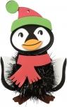 Dekoracja piankowa do złożenia - pingwin (412637)