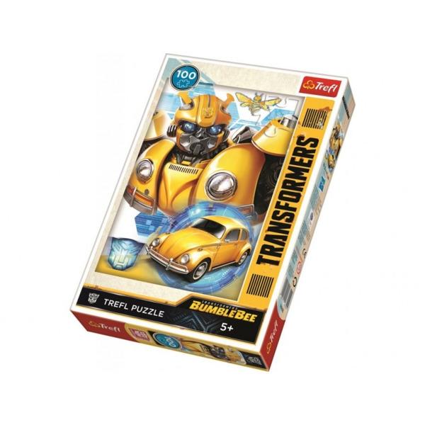 Puzzle 100: Bumblebee transformacja TREFL