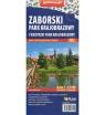 Wdzydzki Park Krajobrazowy i Zaborski Park Krajobrazowy, 1:25 000 - mapa turystyczna