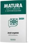 Język angielski Matura 2021 Testy i arkusze ZP Magdalena Roda, Anna Tracz-Kowalska