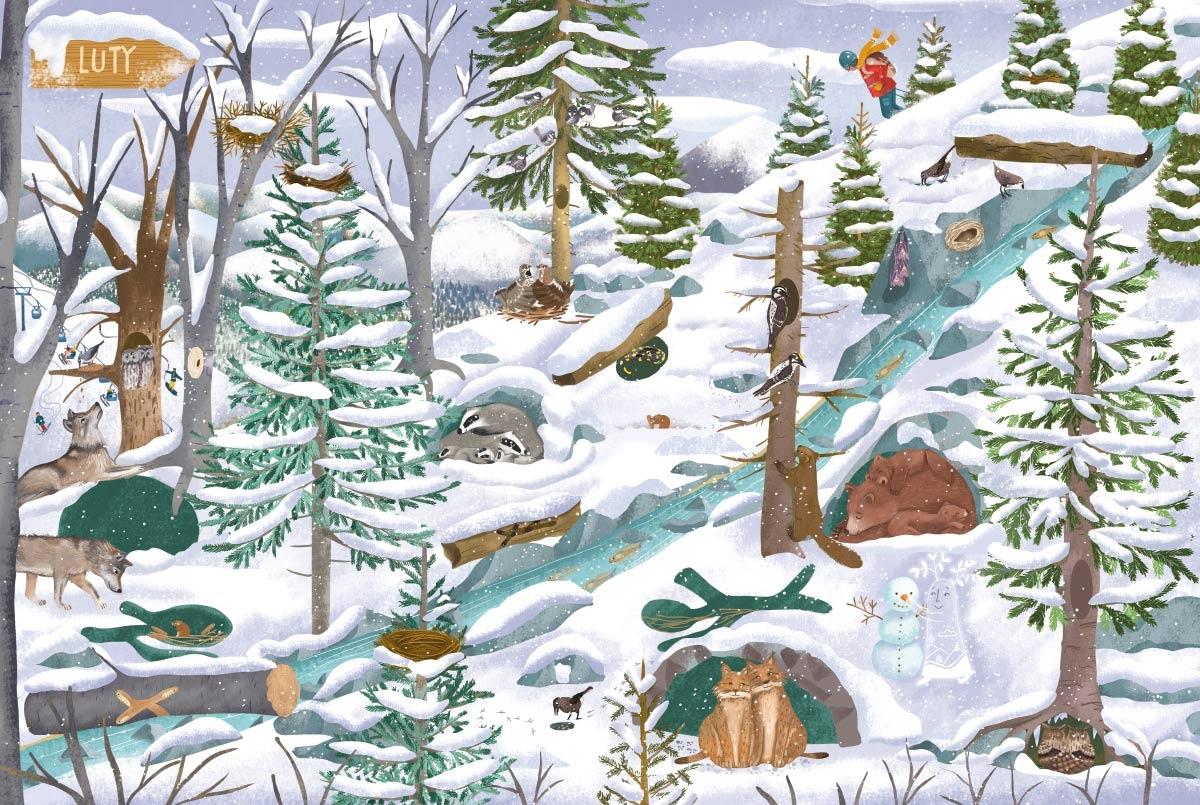 Rok w górach Piątkowska Małgosia