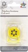 Dziurkacz Titanum Craft-fun kreatywny 18mm kwiatek zarys żółty
