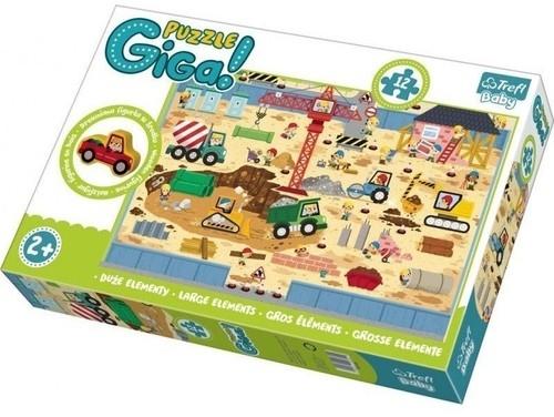 Puzzle Gigantic Budowa 12 (90755)