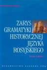 Zarys gramatyki historycznej języka rosyjskiego (Uszkodzona okładka)