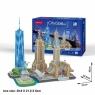 Puzzle 3D: Cityline - Nowy York