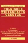 Polnische wirtschafts gesetze