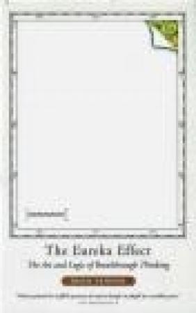 Eureka Effect The Art David Perkins, D Perkins