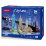 Puzzle 3D: Cityline - Nowy York (306-20255)Wiek: 8+