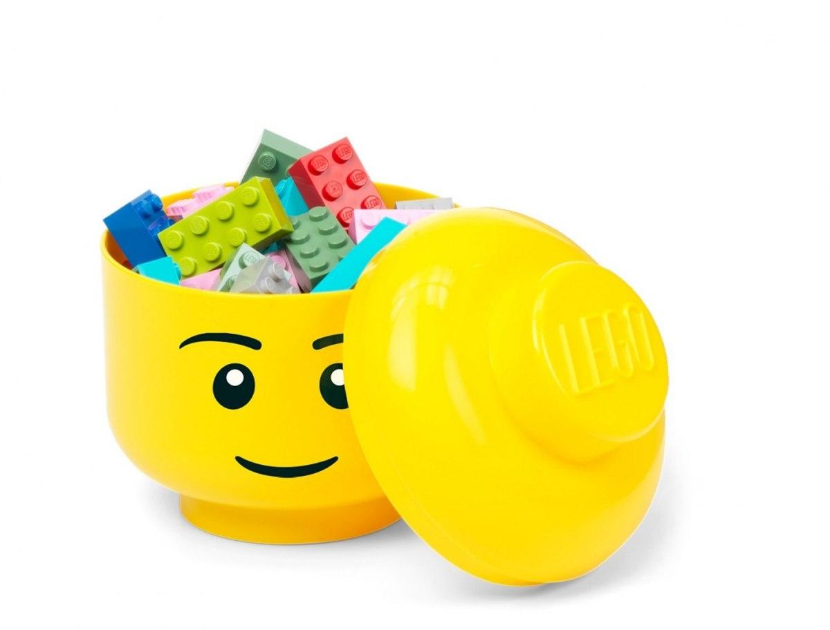 Pojemnik mini głowa LEGO® - Dziewczynka (Oczko) (40331727)
