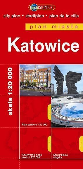 Katowice plan miasta