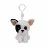 Maskotka brelok Beanie Babies Marcel - Czarno-biały Pies (36655)