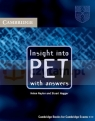 Insight into PET SB with answ Helen Naylor, Stuart Hagger