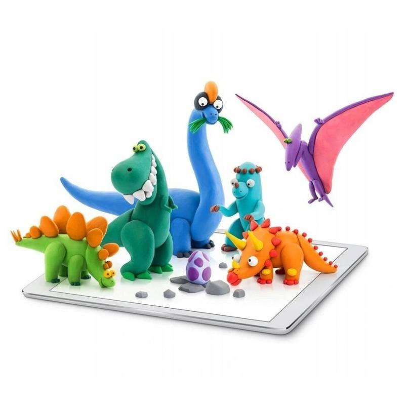 Hey Clay: masa plastyczna - Mega Dinos (HCL18006)