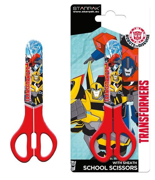Nożyczki szkolne Transformers 130 mm