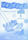 Welcome Kids 1 Teacher's Book Szkoła podstawowa Dooley Jenny, Evans Virginia