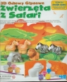 Odlewy gipsowe Zwierzęta z safari